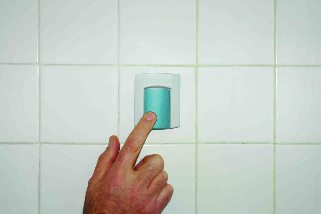 bathroom help button